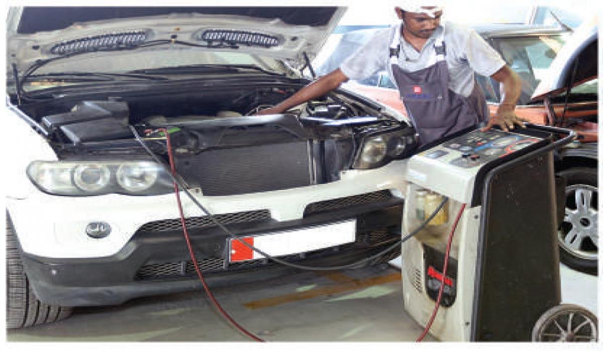 Excel Auto Workshop   Service Details